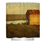 Ramshackle Shower Curtain by Amy Weiss