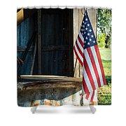 Ranch Flag Shower Curtain