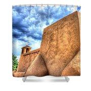 San Francesco De Asis, Rancho De Taos I Shower Curtain
