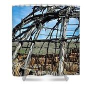 Rancho Sierra Vista Satwiwa Chumash Ap Home Shower Curtain