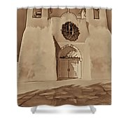 Ranchos In Palladium Shower Curtain