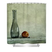 Random Still Life Shower Curtain