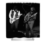 Randy And C.f. Rockin Out In Spokane In 1976 Shower Curtain
