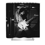 Randy Hansen Playing For Jimi 1978 Shower Curtain