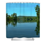Range Pond 0050 Shower Curtain