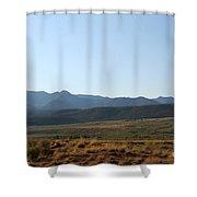 Range Shower Curtain