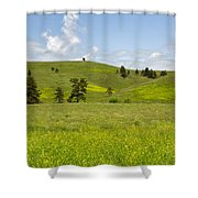 Rangelands Of Custer State Park Shower Curtain