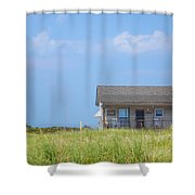 Ranger Cabin  Shower Curtain