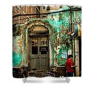 Rangoon's Colonial Remains Shower Curtain