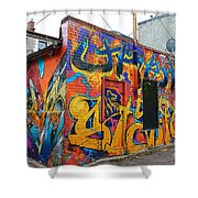 Rant Alley Shower Curtain