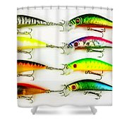 Rapala Collection Shower Curtain