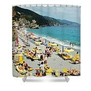Rapallo Beach Shower Curtain