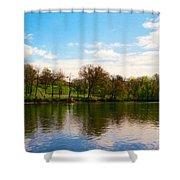 Rappahannock River I Shower Curtain