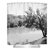Rappahannock Riverbank I Shower Curtain