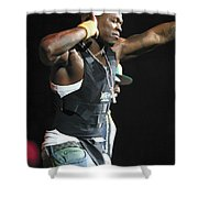 Rapper Fifty Cent Shower Curtain