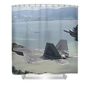 Raptor And Eagle Shower Curtain