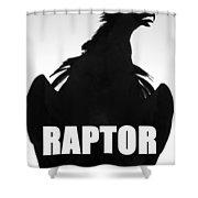 Raptor Spc Work A Shower Curtain