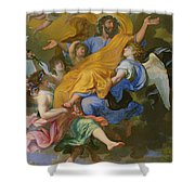 Rapture Of Saint Joseph Shower Curtain