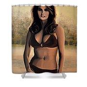 Raquel Welch 2 Shower Curtain