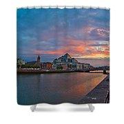 Rare Irish Sunset Shower Curtain