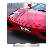 Raring To Go... Shower Curtain