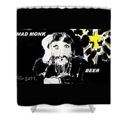 Rasputin Shower Curtain