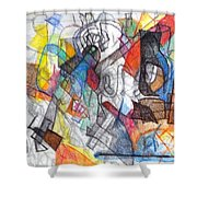 tribute to the Ramchal   Shower Curtain