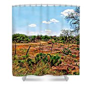 Rattle Rock Road Shower Curtain