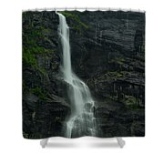 Rauma County Waterfall Shower Curtain
