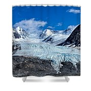 Raven Glacier 2 Shower Curtain