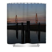 Ravenel From The Dock Shower Curtain