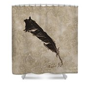 Raven's Gift Shower Curtain