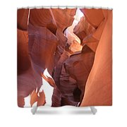Ravine Walk - Antelope Canyon Shower Curtain