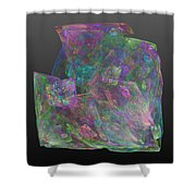 Raw Opal Shower Curtain