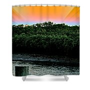 Rays Of Days Shower Curtain