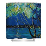 Rays Of Divinity Shower Curtain