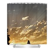 Rays Of Hope Shower Curtain