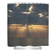 Rays Of The Sunlight Shower Curtain
