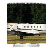 Raytheon Hawker 800xp Shower Curtain