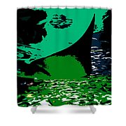 The Great Ray Shower Curtain