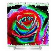 Razzle Dazzle Rose Shower Curtain