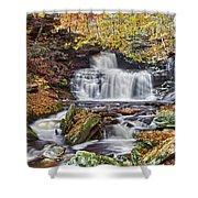 Rb Ricketts Falls Shower Curtain