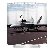 Rcaf F-18 Shower Curtain