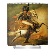 Re Classic Oil Painting General On Canvas#16-2-5-08 Shower Curtain