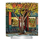 Re-cycle Bike Shop Shower Curtain