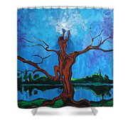 Reach For The Light My Sister Shower Curtain