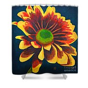 Reaching Bloom Shower Curtain