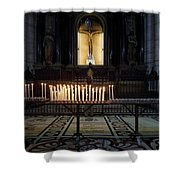 Reaching. Duomo. Milano Milan Shower Curtain