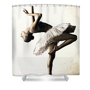Reaching For Perfect Grace Shower Curtain