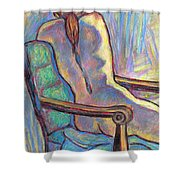 Reaching Out In Color Shower Curtain